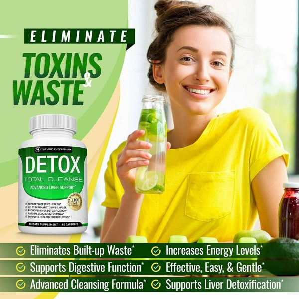 Liver Cleanse Detox & Repair Formula +22 Herbs Support 5 Day Fast-Acting DETOX 2