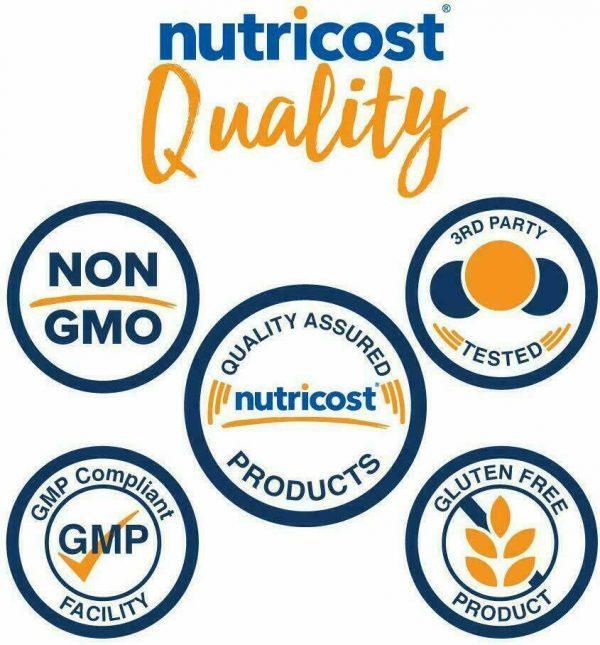 Nutricost L-Lysine 1000mg, 250 Capsules - Gluten Free, Non-GMO, 500mg Per Cap 4