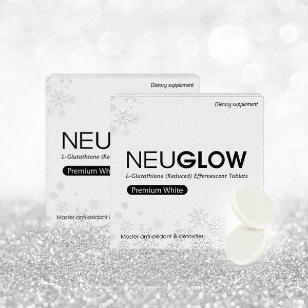 Neuglow L-Glutathione Premium White 28 Whitening effervescent tablets 10