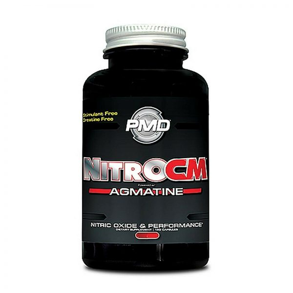 PMD NITRO CM Powered w/AGMATINE-Nitric Oxide Booster 180cap (FREE SHIPPING) 2