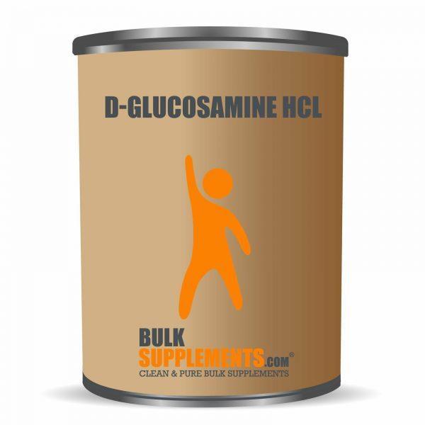 BulkSupplements.com D-Glucosamine HCl 6