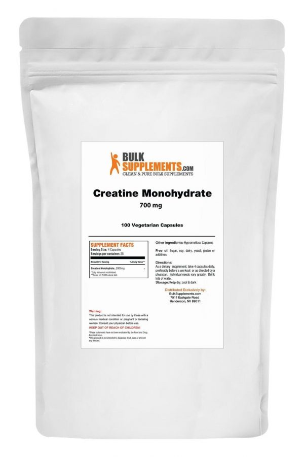 BulkSupplements.com Creatine Monohydrate (Micronized) 10