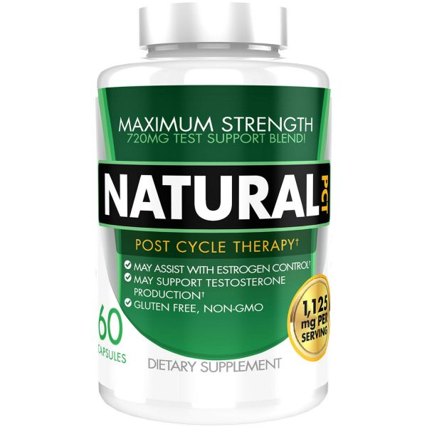Natural PCT Post Cycle Therapy Estrogen Blocker Testosterone Booster 1125mg 2