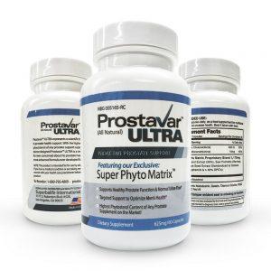 1 Bottle New Improve From Maker of Original Prostavar Ultra Prostate Support 625