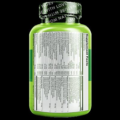 NATURELO Whole Food Multivitamin for Men - 240 Capsules 2