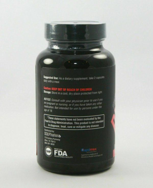 SCULPTnation BURN Thermogen Dietary Supplement 60 Capsules  2