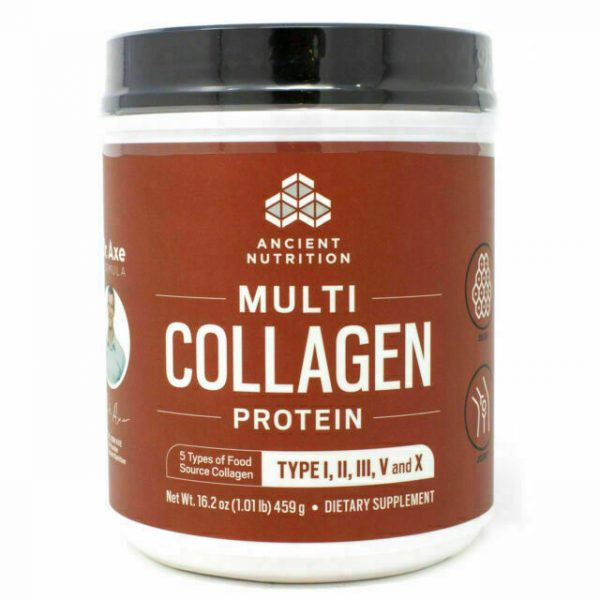 Ancient Nutrition Multi Collagen Protein Powder - 16.2oz EXP 02/2021