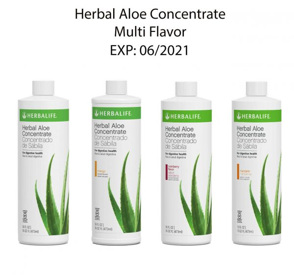 BRAND NEW HERBALIFE ALOE CONCENTRATE ALL FLAVOR - 16OZ - FREESHIPPING