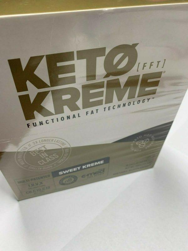 Pruvit Keto Kreme -With Functional Fat Technology (FTT) 20 Packets,BRAND NEW!! 5