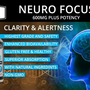 Neuro Brain & Focus 60ct, Healthy Memory Function, Clarity Nootropic Supplement 1