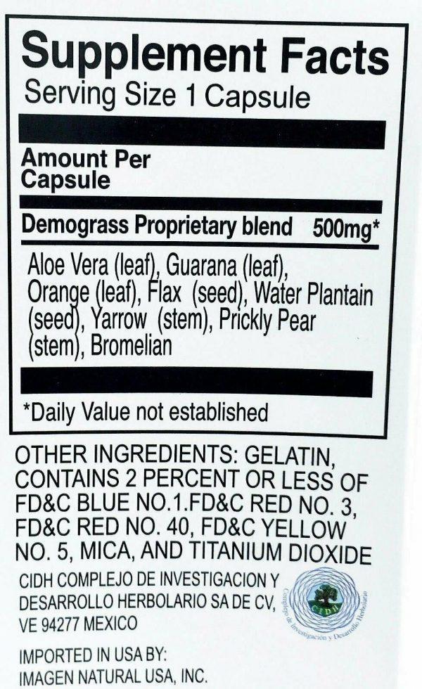 90 DAY Demograss Classic 100% Natural Supplement Demograss Clasico para 3 MESES 4