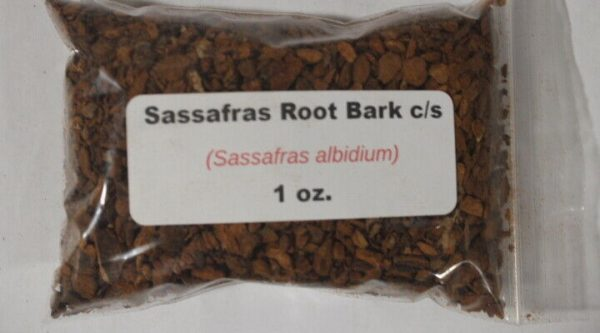 1 oz. Sassafras root bark c/s (sassafras albidium)