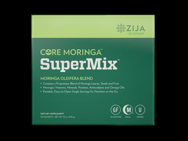Zija SuperMix. Core Moringa Oleifera 32 Packets. New & Sealed 2