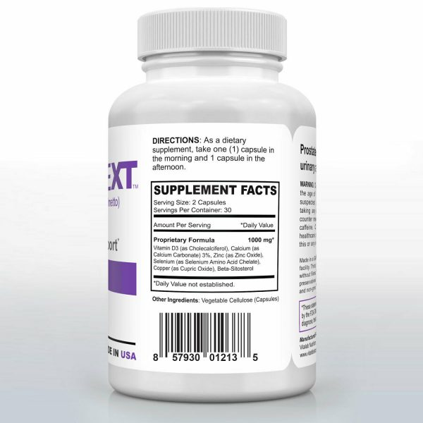 Prostate Support Urinary Health Bladder Beta Sitosterol Prostate Supplement 60ct 2
