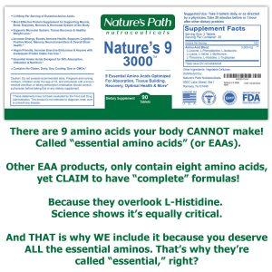 9 Essential Amino Acid Complex Supplement Complete Essential Amino Acid Pills