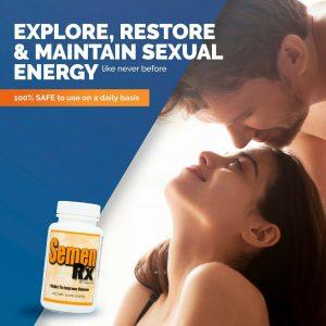 SemenRx Semen Volumizer | All-Natural Male Ejaculant & Fertility Enhancement 1