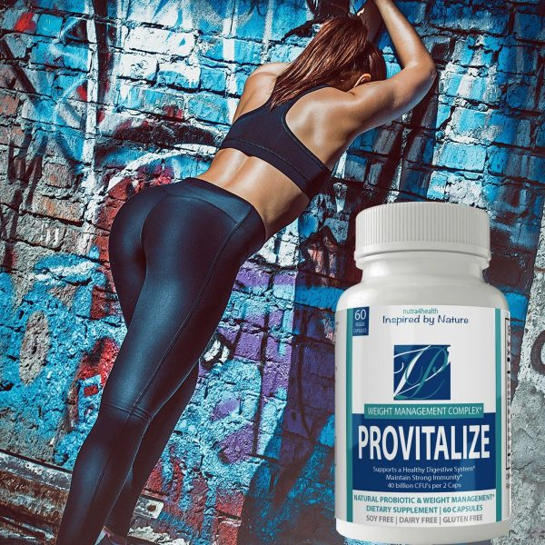 2 Bottle Pack Provitalize Probiotic Weight Management Pills ORIGINAL by n4h 6