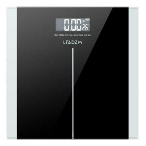 400lb Digital Body Weight Scale Bathroom Fitness Backlit LCD 180kg + 2 Battery 1