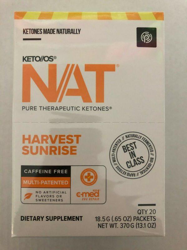 New Pruvit Keto OS NAT Harvest Sunrise 5,10 & 20 Packs  Free Shipping 5