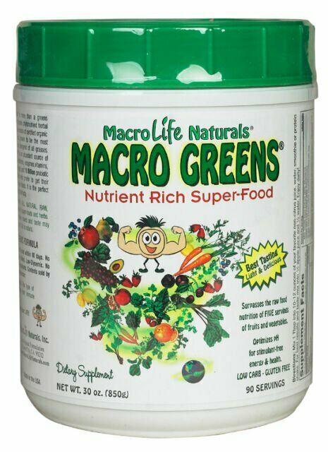 Macro Greens Superfood 30oz 90s 1
