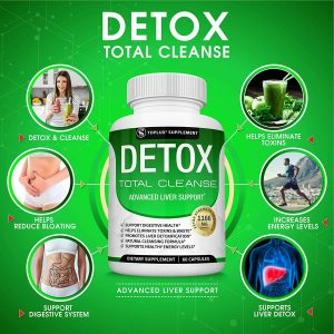 Liver Cleanse Detox & Repair Formula +22 Herbs Support 5 Day Fast-Acting DETOX 1