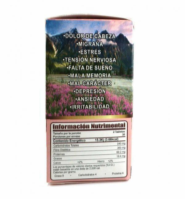 2 PACK ME VALE MADRE Tablet 2 Month Stress, Nervios, Dolor de Cabeza y Mas 120ct 4