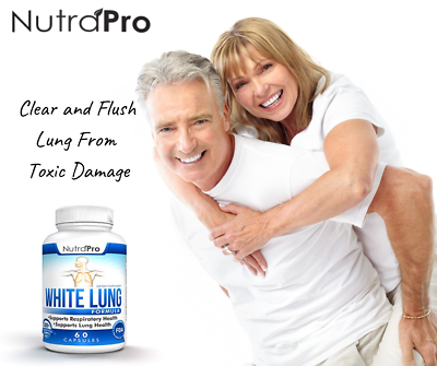 White Lung - Lung Cleanse & Detox.Support Clear Lungs a Healthy Lungs Supplement 3