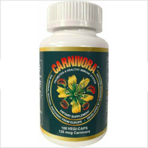 Carnivora 100 Vegi-caps 1 Bottle Healthy Immune system