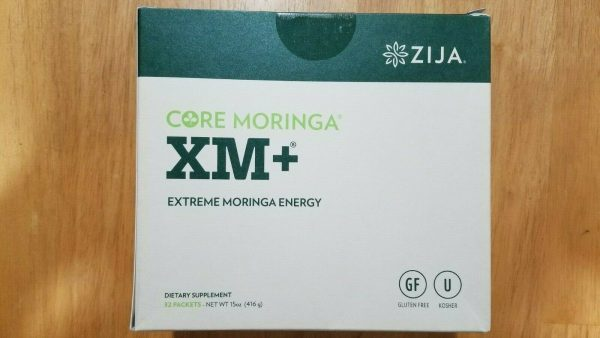 Zija XM+. Core Moringa 32 Packets. New & Sealed 2