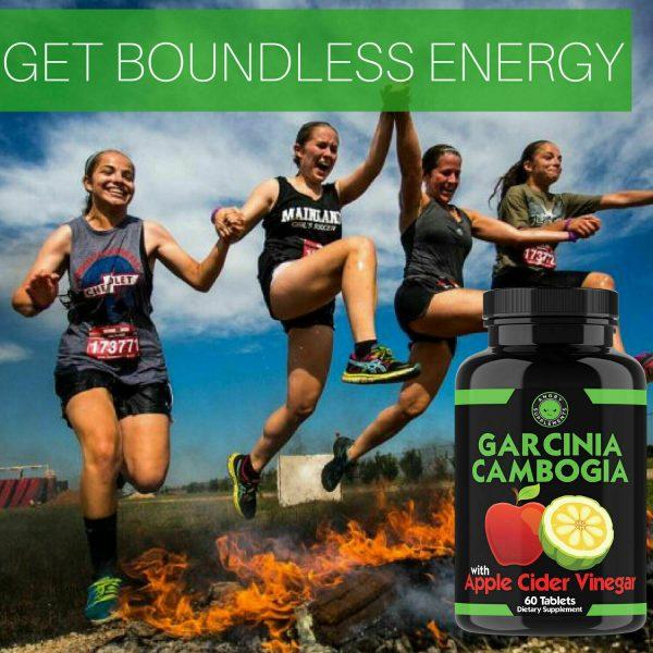Weight Loss Garcinia Cambogia w/ Apple Cider Vinegar & CLA, ACV Fat Burner Pills 8
