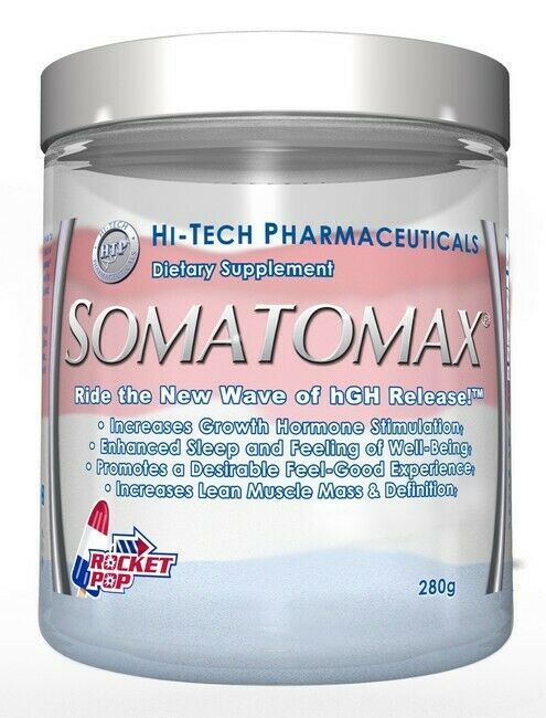 HI TECH PHARMACEUTICALS SOMATOMAX ROCKET POP - 20 SERVINGS EXP 11/2022
