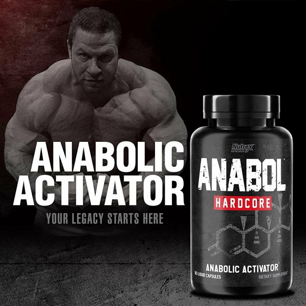 Nutrex Research Anabol Hardcore Anabolic Activator, Muscle Builder and... 3