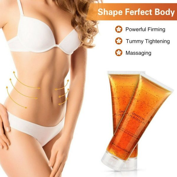 1-5 Fat Burning Gel Ultrasonic Massage Gel RF Cavitation Body Slimming Hot Cream 2