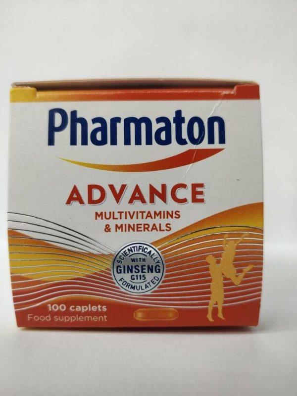 3 (THREE) PACK Pharmaton Capsules 100 Capsules (containing Unique Ginseng G115) 2