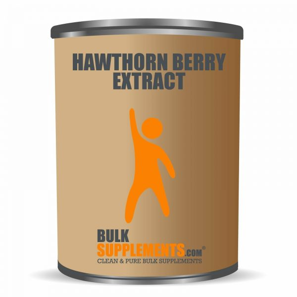 BulkSupplements.com Hawthorn Berry Extract 6