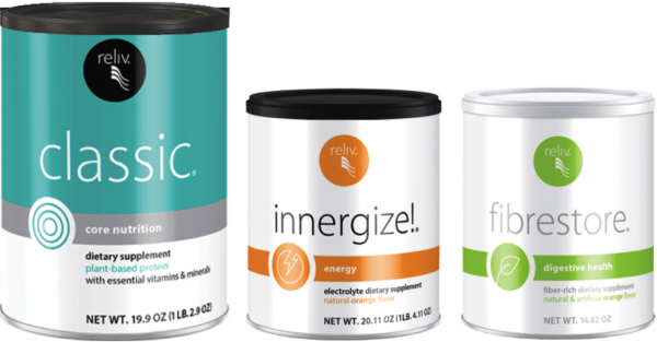 Reliv Classic, Now, Innergize, & Fibrestore - Bundle Discount + Free Shipping!!!