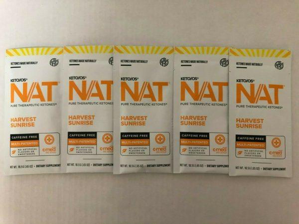 New Pruvit Keto OS NAT Harvest Sunrise 5,10 & 20 Packs  Free Shipping 3