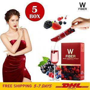 5X W Fiber Detox Mixed Berry Balance Body Weight Control Antioxidant Healthy DHL