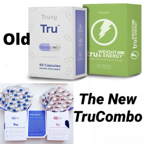 TRUVISION Health Month WEIGHT LOSS Weight & Energy 30 Day DIET Control TRU & VY 9