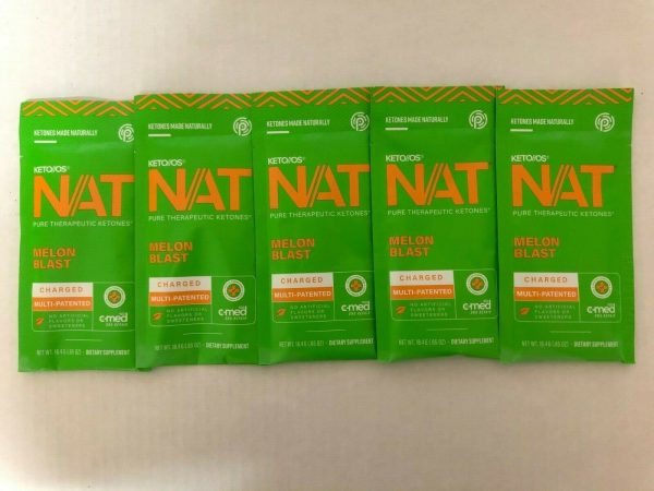 New Pruvit Keto OS NAT Melon Blash 5,10 & 20 Packs Free Shipping 1