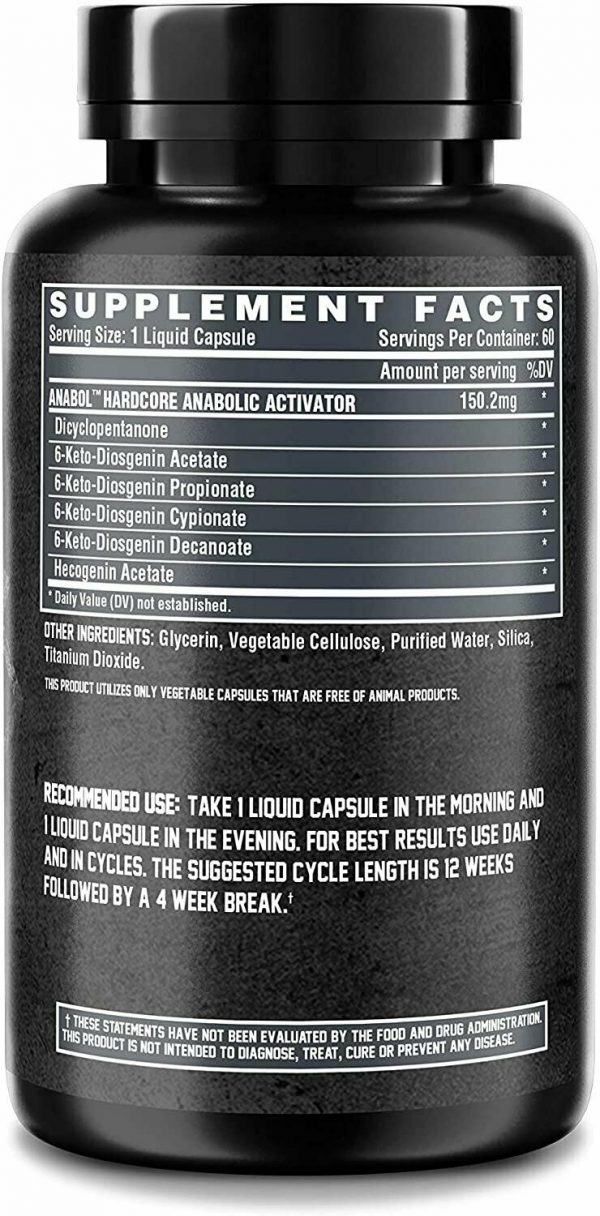 Nutrex Research Anabol Hardcore Anabolic Activator, Muscle Builder and... 2