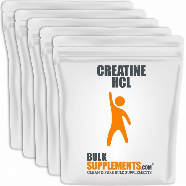 BulkSupplements.com Creatine HCl 5