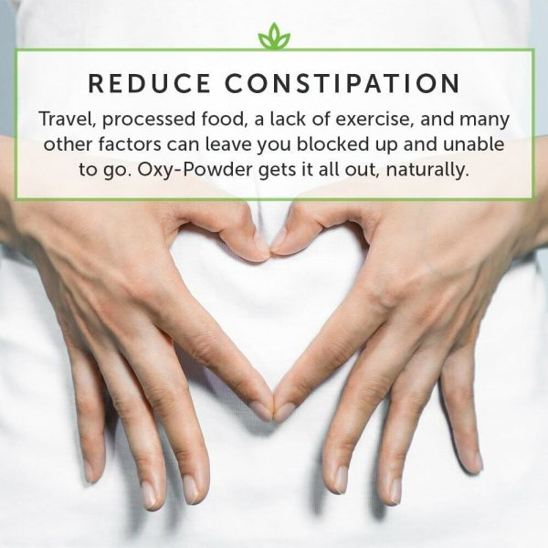 Oxy-Powder Colon Cleanser & Natural Laxative Overnight Constipation Relief Pills 7