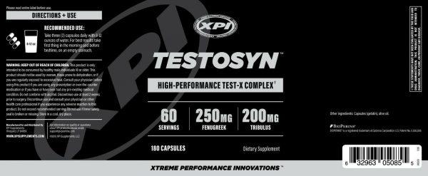 Testosyn - Powerful Testosterone Booster 3