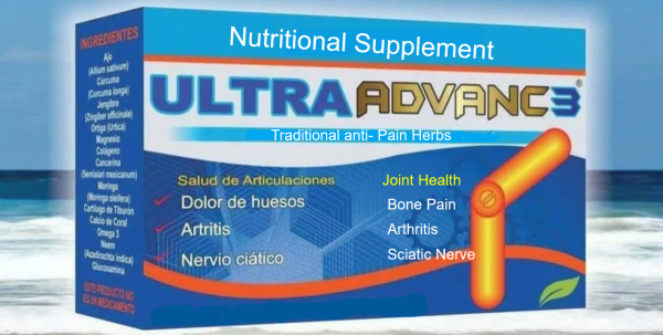 ULTRA ADVANCE 3 Arthritis Joint Pain Reumatism 30 caps ORIGINAL, CURCUMA JINGER 1