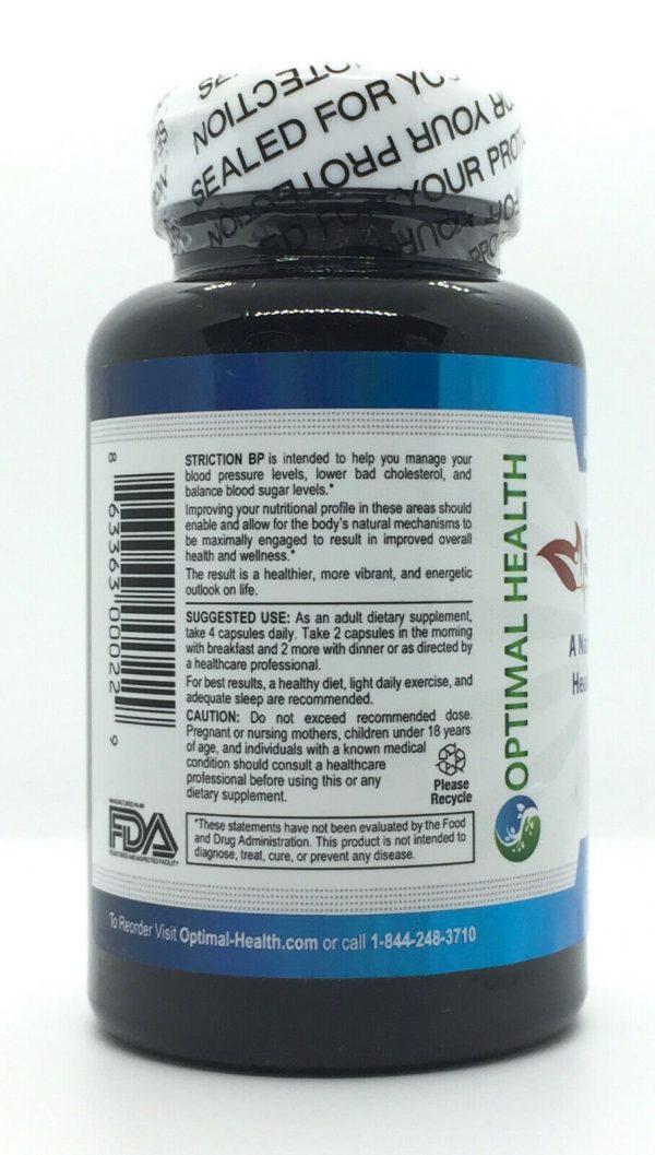 Striction BP Advanced Formula Support Healthy Blood Pressure StrictionBP NEW 1