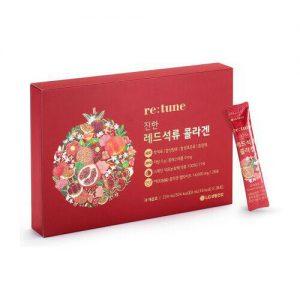 [RETUNE] Rich Red Pomegranates Collagen - 1pack (for 28 days)