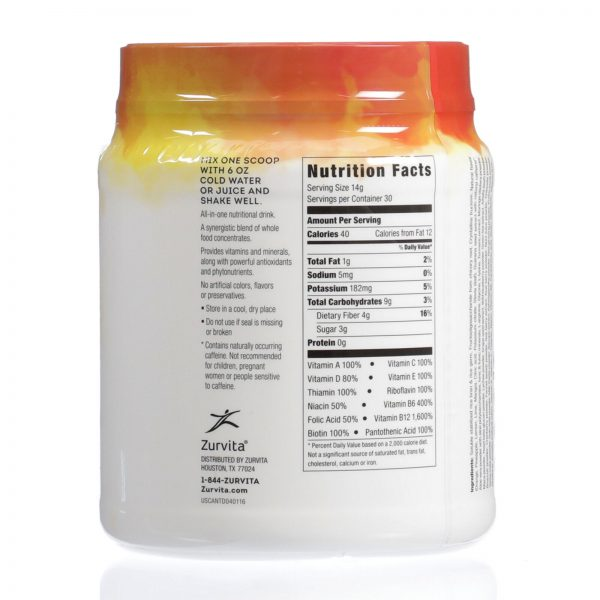 Zurvita- Zeal for Life- 30-Day Wellness Canister- Tropic Dream 1