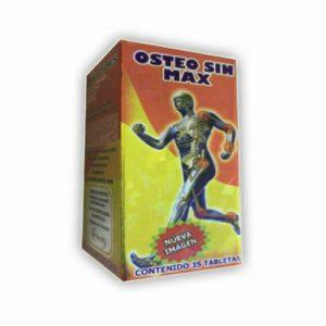 1X OSTEO SIN MAX ARTHRITIS 35 tabs ARTRITIS OSTEOPOROSIS HERNIA ARTICULACIONES 1