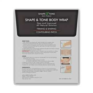 NEW Improved Firming and Shaping Contouring Patch Slimming Body wrap 5 WRAPS 1